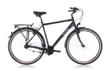 Ortler Monet Cityfiets Heren Herren, black matte zwart